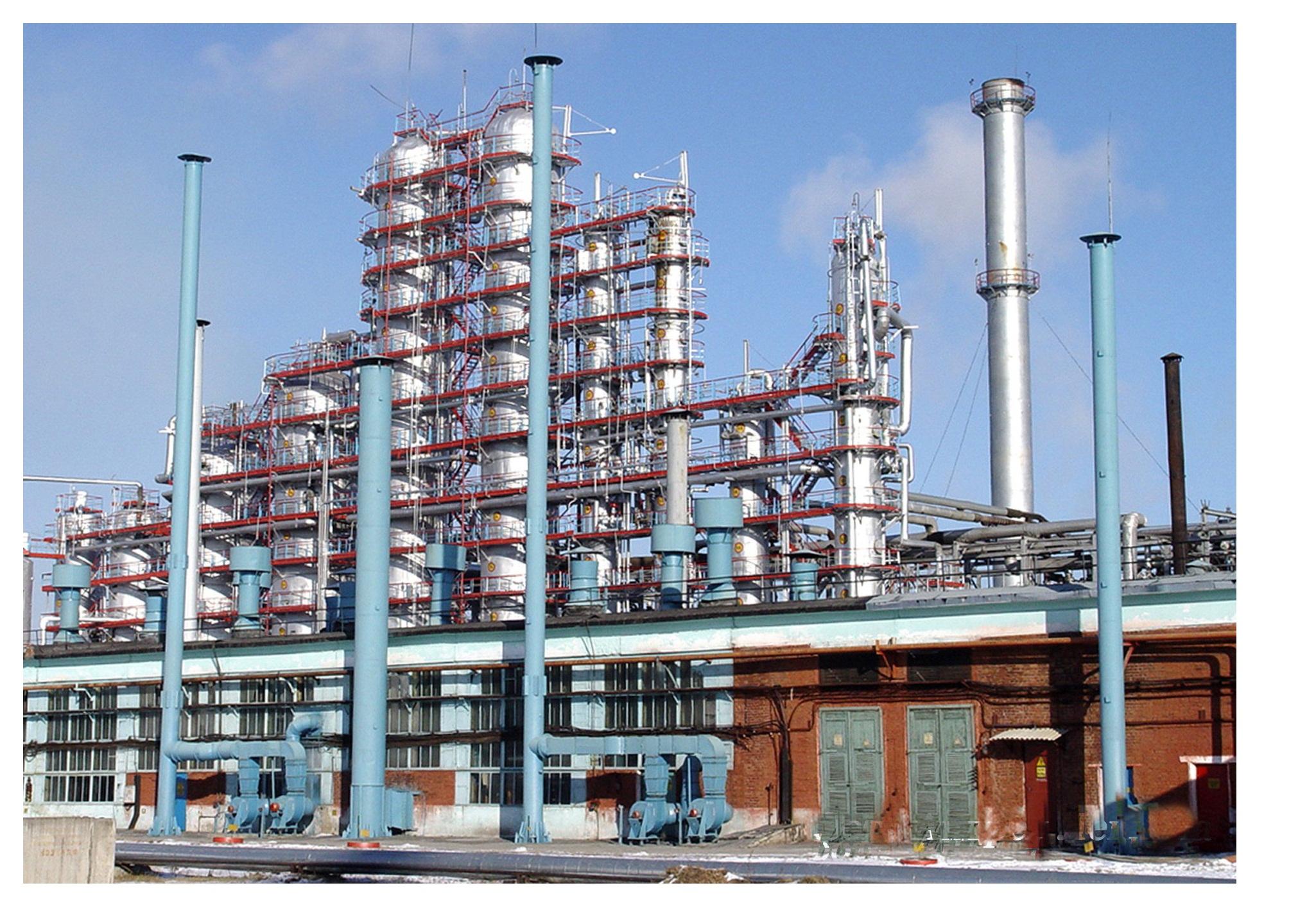 Отрасли нефтехимической промышленности