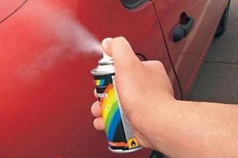 Краска для автомобилей в баллончиках