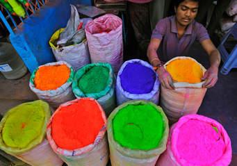 Как делали первые краски
