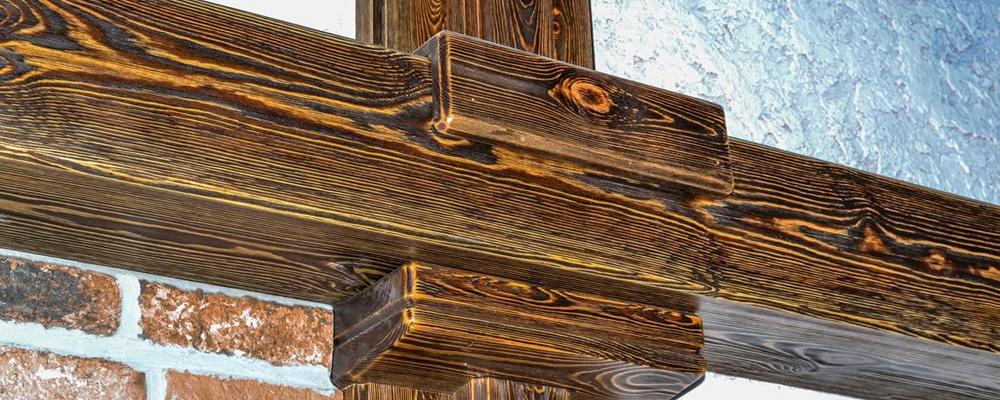Браширование древесины своими руками это