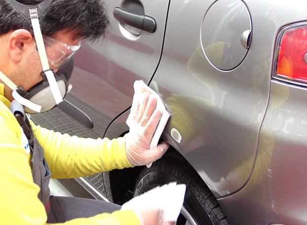 Ремонта царапины на кузове автомобиля своими руками