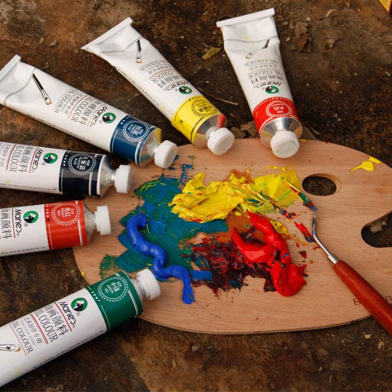 Как сделать самим масляные краски