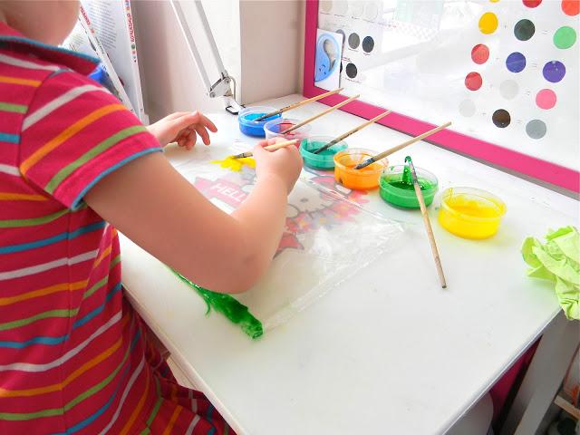 Краски для витражей в домашних условиях