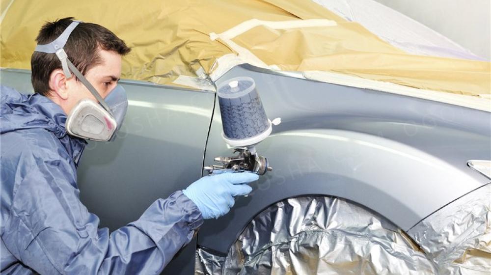 Как правильно провести покраску машины, виды окрашивания - точечная, локальная