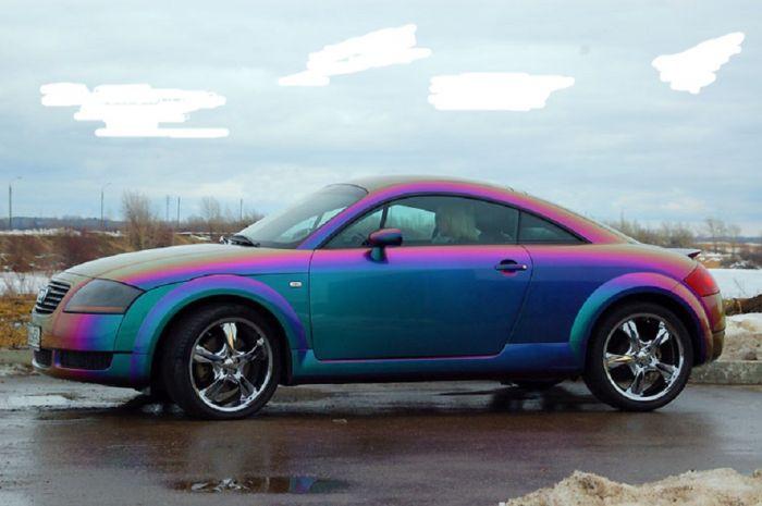 Парамагнитная краска для авто
