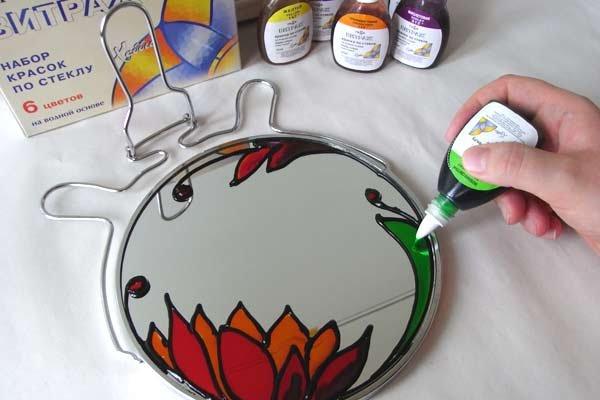 Краски которыми можно рисовать на стекле