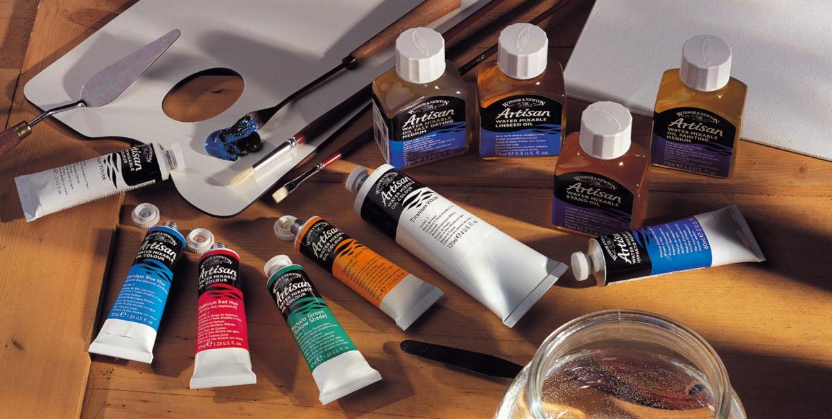 Сделать масляные краски в домашних условиях 676