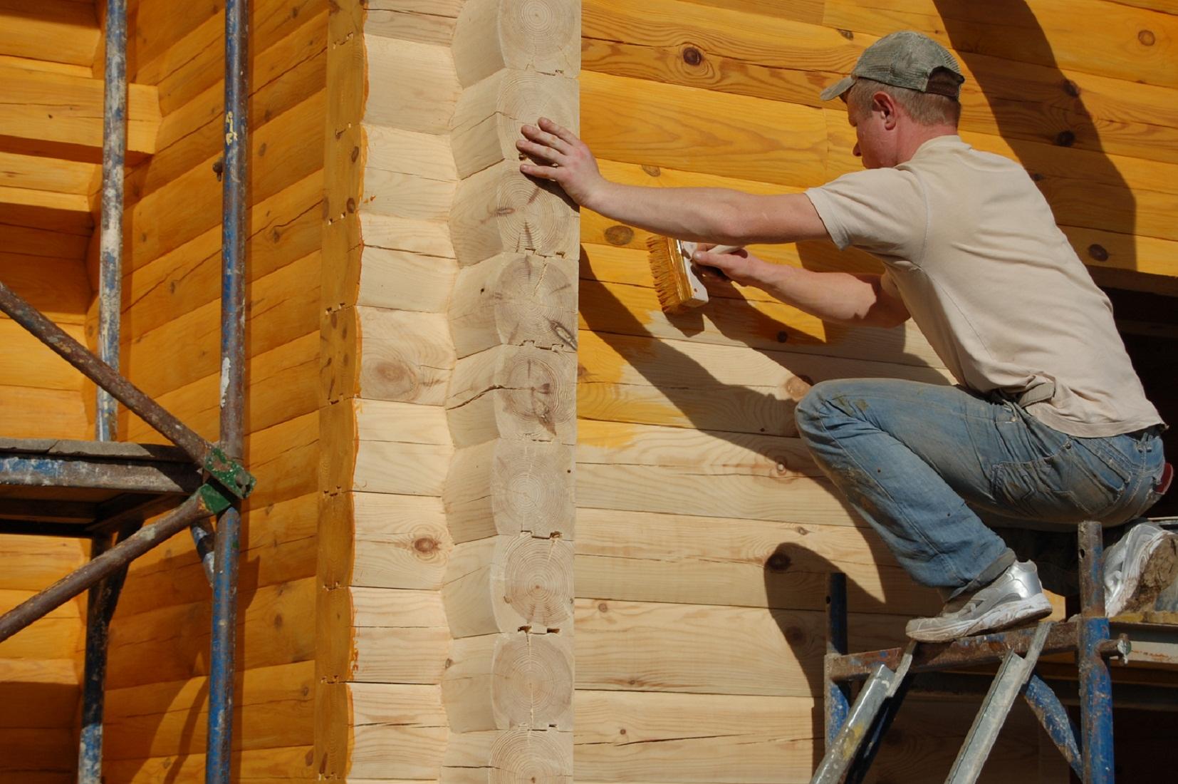 Из чего сделать антисептик для древесины своими руками