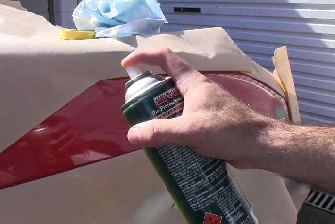 Как правильно покрасить автомобиль из баллончика