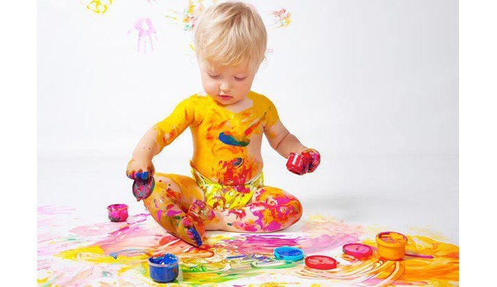Пальчиковые краски для малышей от 1 года