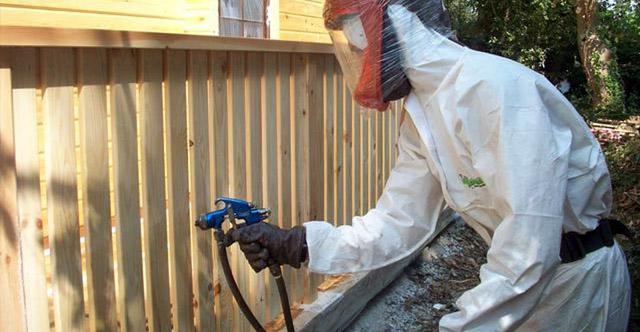 Использование и применение огнезащитных красок для дерева