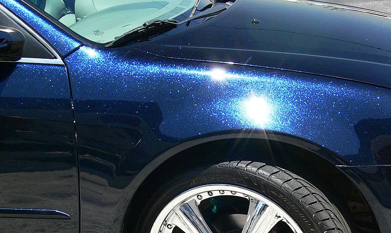 Покраска авто металликом