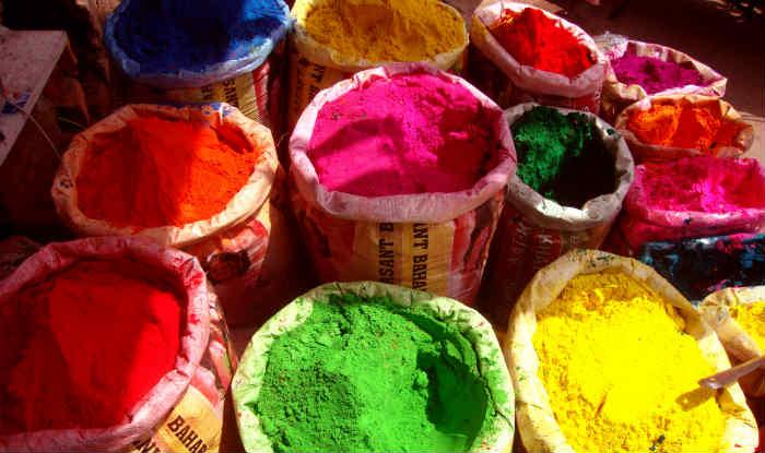 Производство Холи в Индии