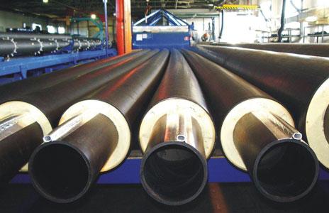 Популярность на защитные покрытия для стальных труб растет