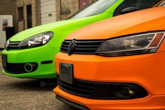 Правильная покраска машины