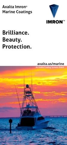 Axalta представляет бриллиантовую краску для морской индустрии