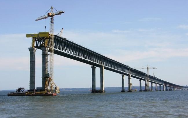 Металлические конструкции для «Крымского моста» проверяют на антикоррозию