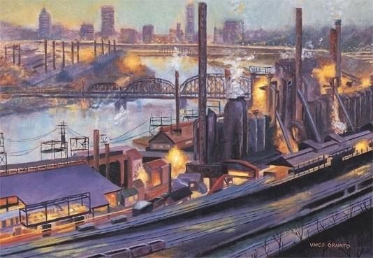 Художественная галерея Нью-Кенсингтон покажет индустриальное прошлое Питтсбурга