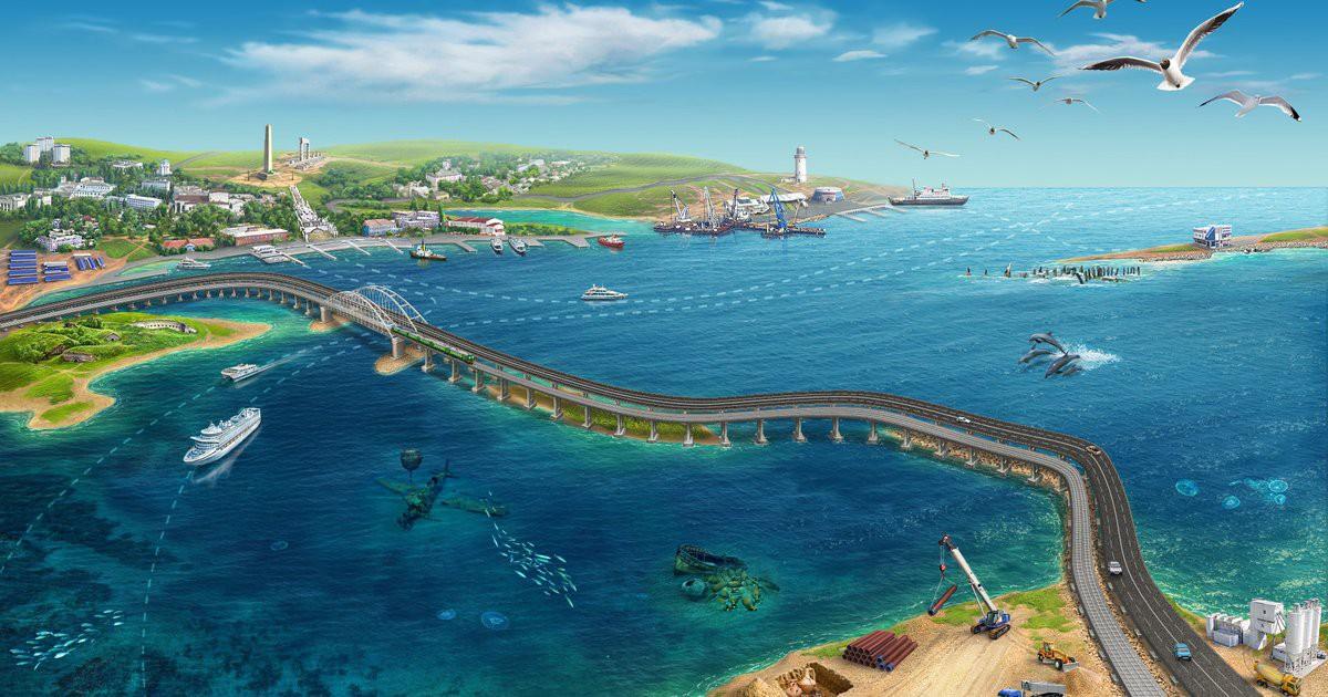 Строители крымского моста попали под американские санкции