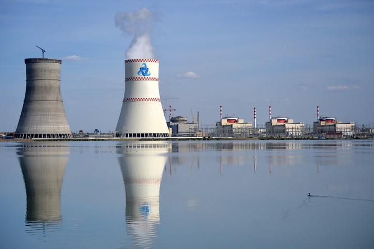 Завершилась покраска энергоблока Ростовской АЭС