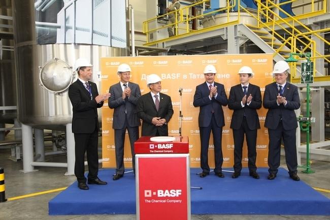 За пределами Германии откроется первый завод BASF
