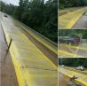Дождь смыл невысохшую дорожную краску