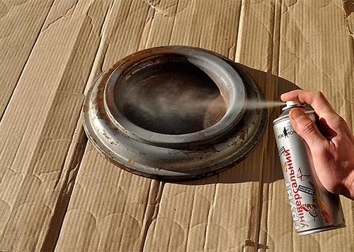 Грунтовка для покраски металла