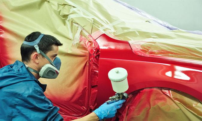 Самостоятельная покраска авто