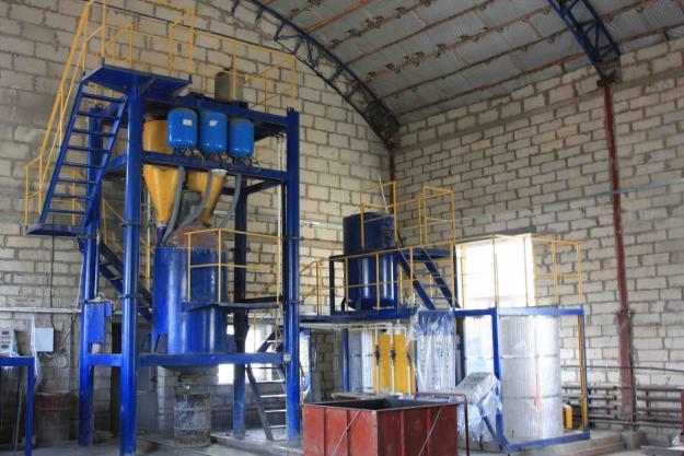 Производство алюминиевая пудра